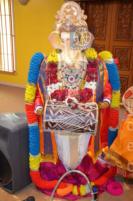 Ganesh chaturthi at SVCC Temple, Fremont, CA, USA - Picture 2 of 25