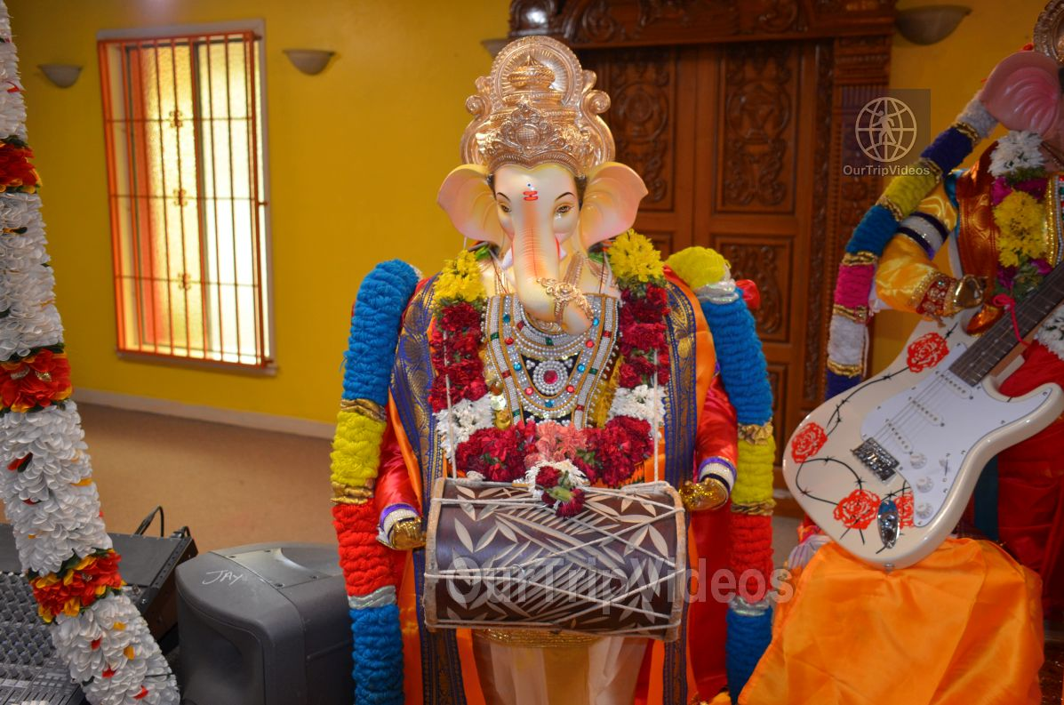 Ganesh chaturthi at SVCC Temple, Fremont, CA, USA - Picture 3 of 25
