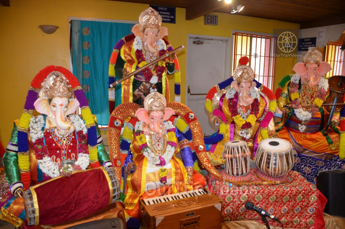 Ganesh chaturthi at SVCC Temple, Fremont, CA, USA - Picture 7 of 25