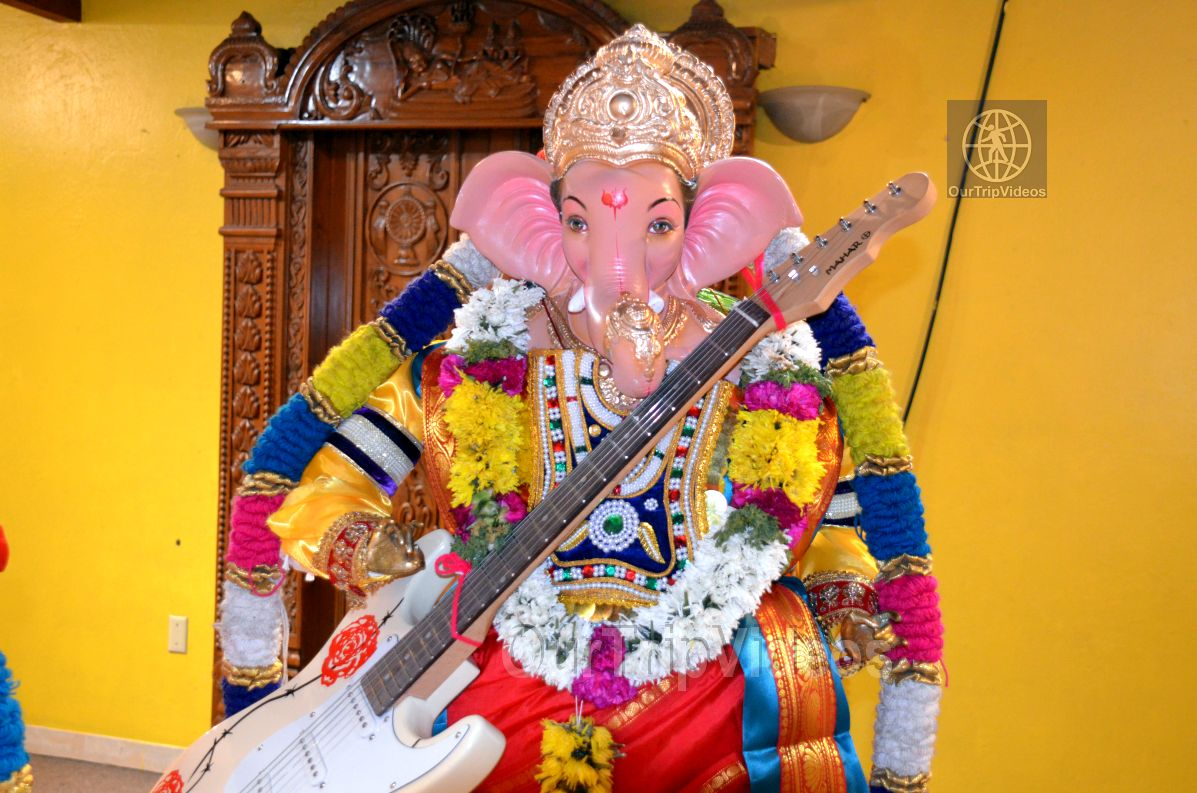 Ganesh chaturthi at SVCC Temple, Fremont, CA, USA - Picture 8 of 25