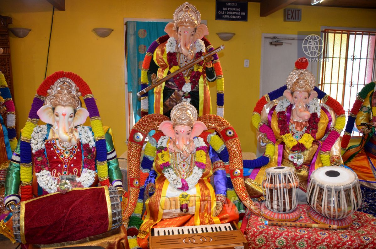 Ganesh chaturthi at SVCC Temple, Fremont, CA, USA - Picture 11 of 25