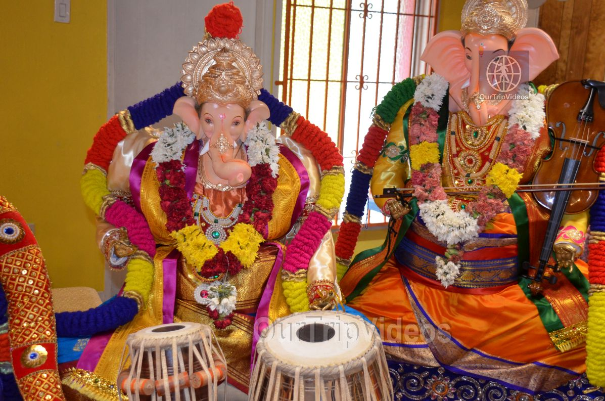Ganesh chaturthi at SVCC Temple, Fremont, CA, USA - Picture 12 of 25