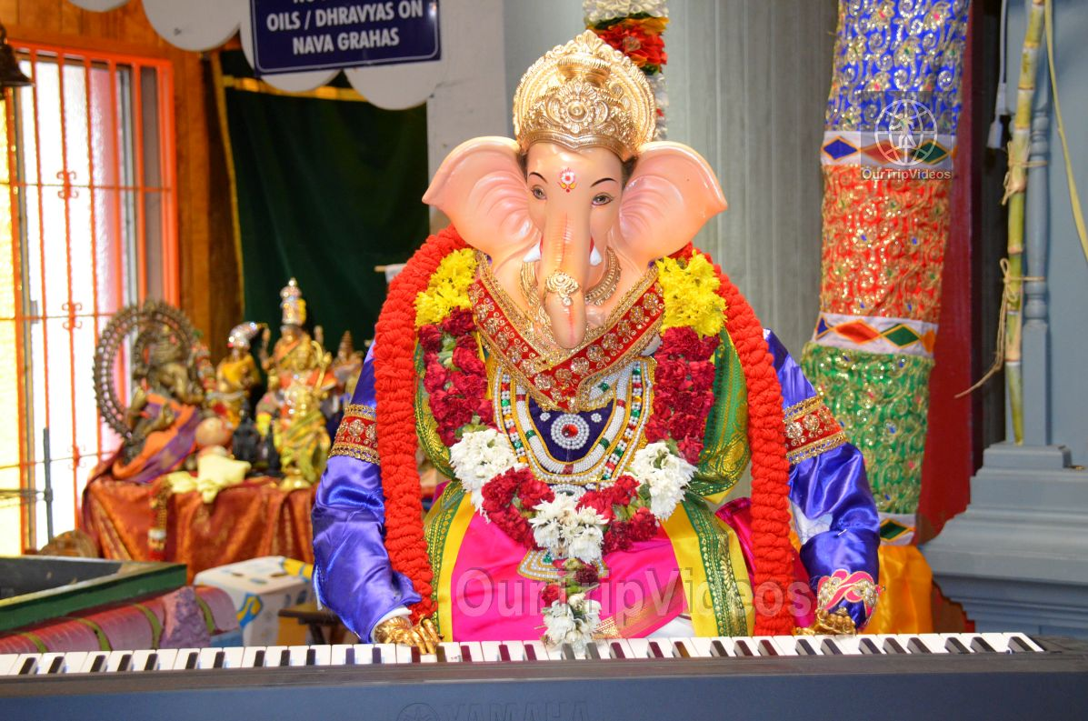 Ganesh chaturthi at SVCC Temple, Fremont, CA, USA - Picture 13 of 25