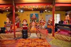 Ganesh chaturthi at SVCC Temple, Fremont, CA, USA - Picture 1