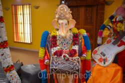 Ganesh chaturthi at SVCC Temple, Fremont, CA, USA - Picture 3