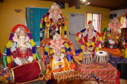 Ganesh chaturthi at SVCC Temple, Fremont, CA, USA - Picture 7