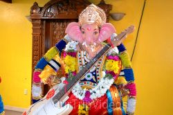 Ganesh chaturthi at SVCC Temple, Fremont, CA, USA - Picture 8