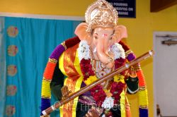 Ganesh chaturthi at SVCC Temple, Fremont, CA, USA - Picture 10