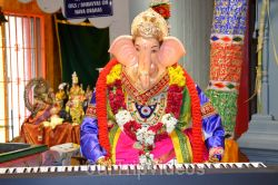 Ganesh chaturthi at SVCC Temple, Fremont, CA, USA - Picture 13