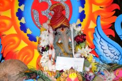 Ganesh chaturthi at SVCC Temple, Fremont, CA, USA - Picture 16