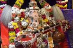 Ganesh chaturthi at SVCC Temple, Fremont, CA, USA - Picture 17