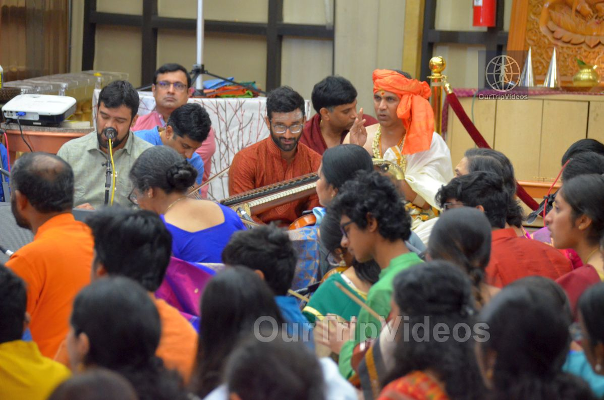 Lotus Tyagaraja Aradhana at Sanatana Dharma Kendra, San Jose, CA, USA - Picture 4 of 25