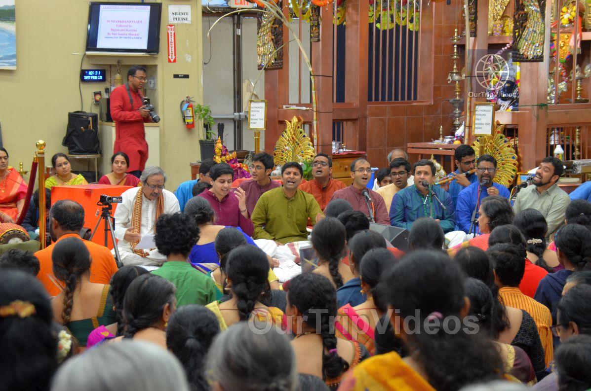 Lotus Tyagaraja Aradhana at Sanatana Dharma Kendra, San Jose, CA, USA - Picture 6 of 25