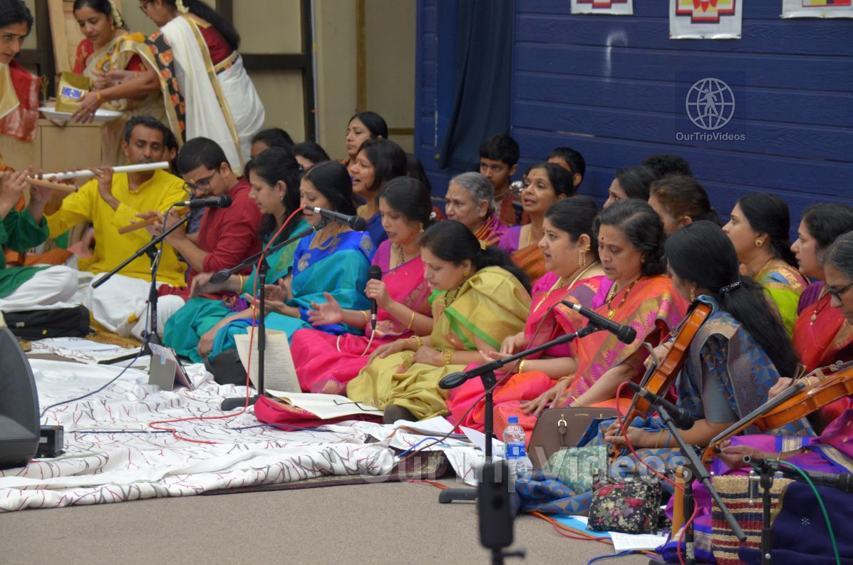 Lotus Tyagaraja Aradhana at Sanatana Dharma Kendra, San Jose, CA, USA - Picture 15 of 25