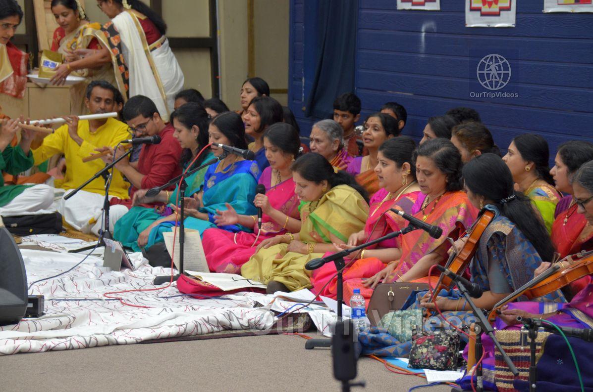 Lotus Tyagaraja Aradhana at Sanatana Dharma Kendra, San Jose, CA, USA - Picture 15 of 25