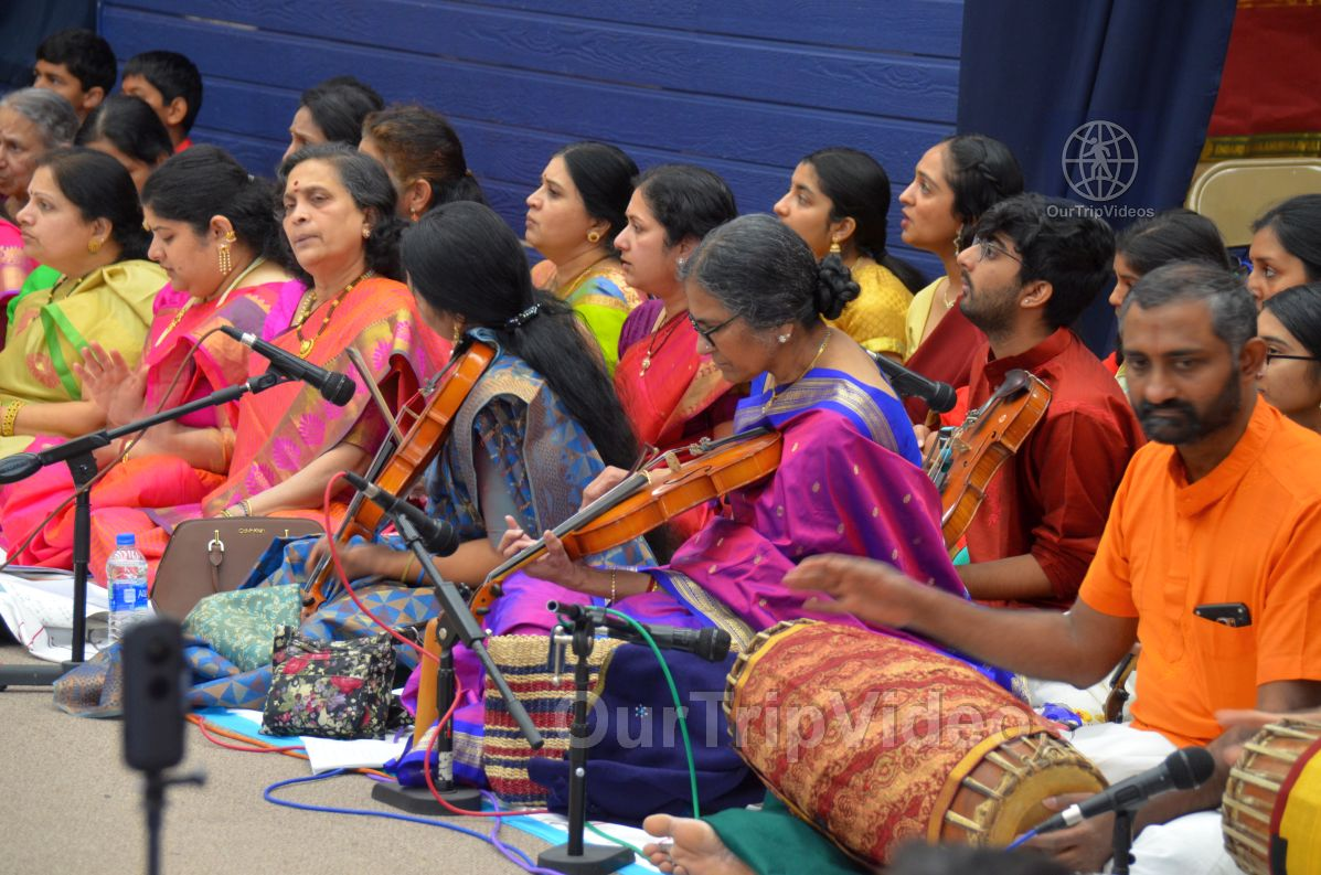Lotus Tyagaraja Aradhana at Sanatana Dharma Kendra, San Jose, CA, USA - Picture 16 of 25