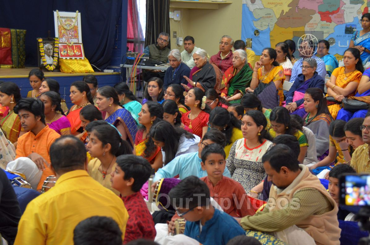 Lotus Tyagaraja Aradhana at Sanatana Dharma Kendra, San Jose, CA, USA - Picture 17 of 25