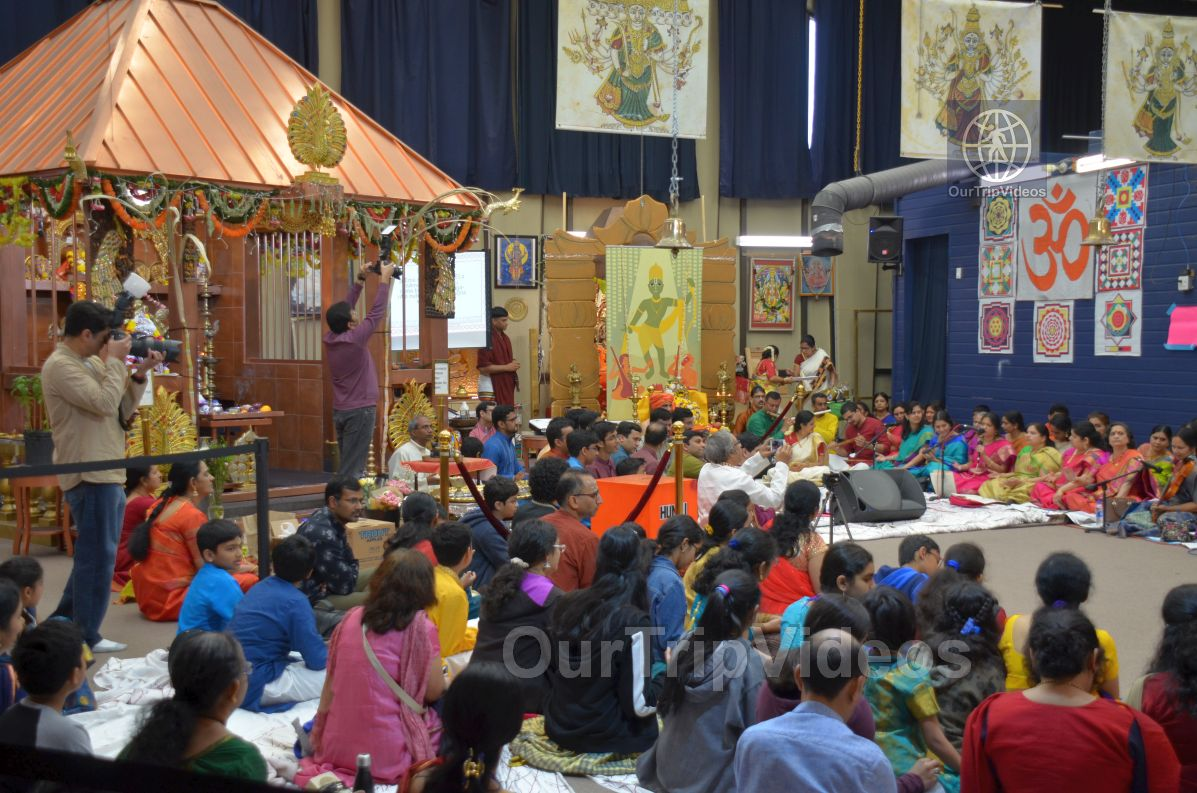 Lotus Tyagaraja Aradhana at Sanatana Dharma Kendra, San Jose, CA, USA - Picture 18 of 25