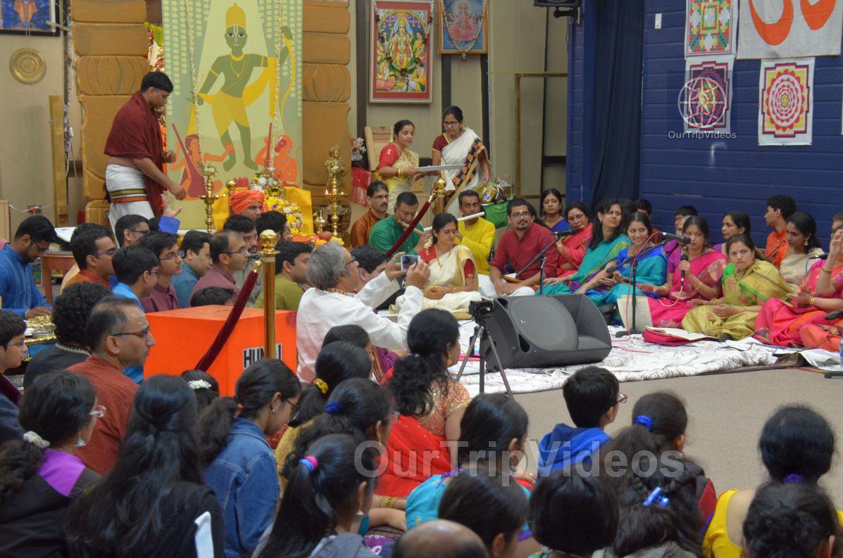 Lotus Tyagaraja Aradhana at Sanatana Dharma Kendra, San Jose, CA, USA - Picture 19 of 25