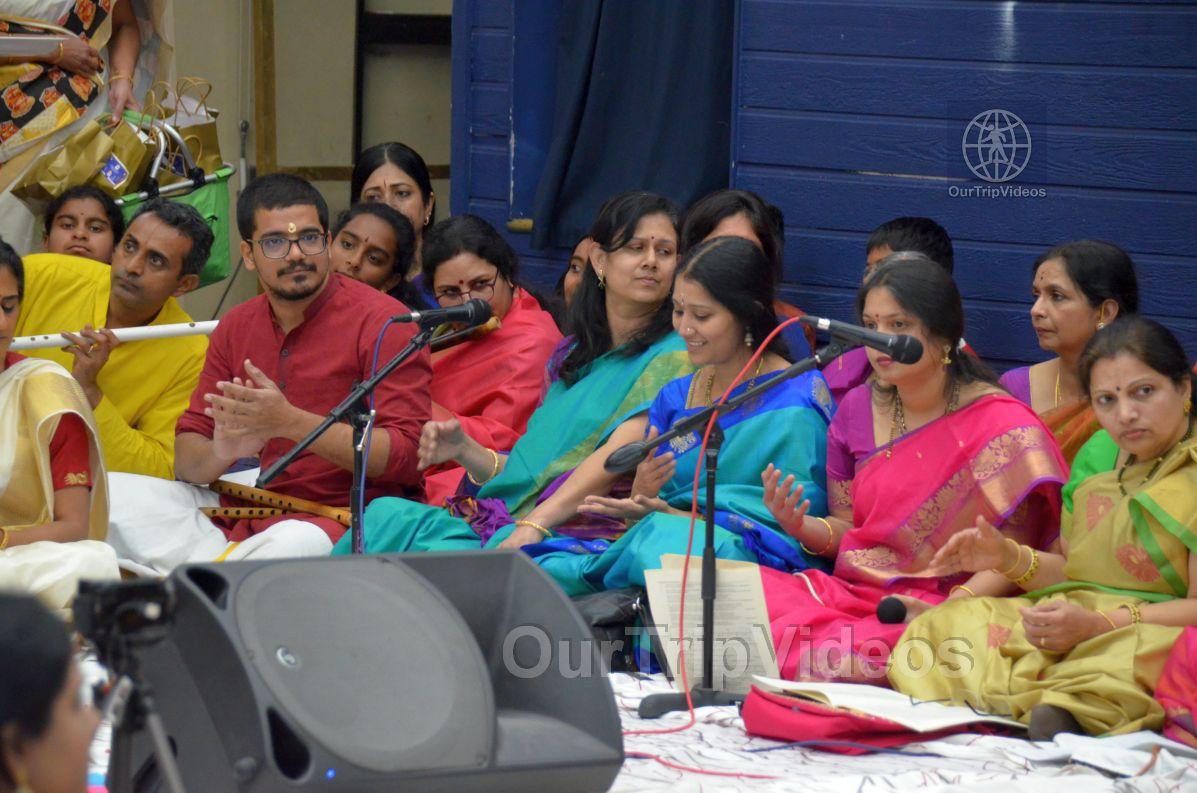 Lotus Tyagaraja Aradhana at Sanatana Dharma Kendra, San Jose, CA, USA - Picture 21 of 25