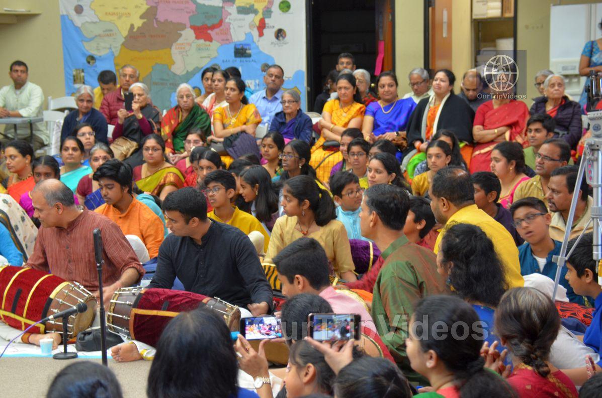 Lotus Tyagaraja Aradhana at Sanatana Dharma Kendra, San Jose, CA, USA - Picture 25 of 25