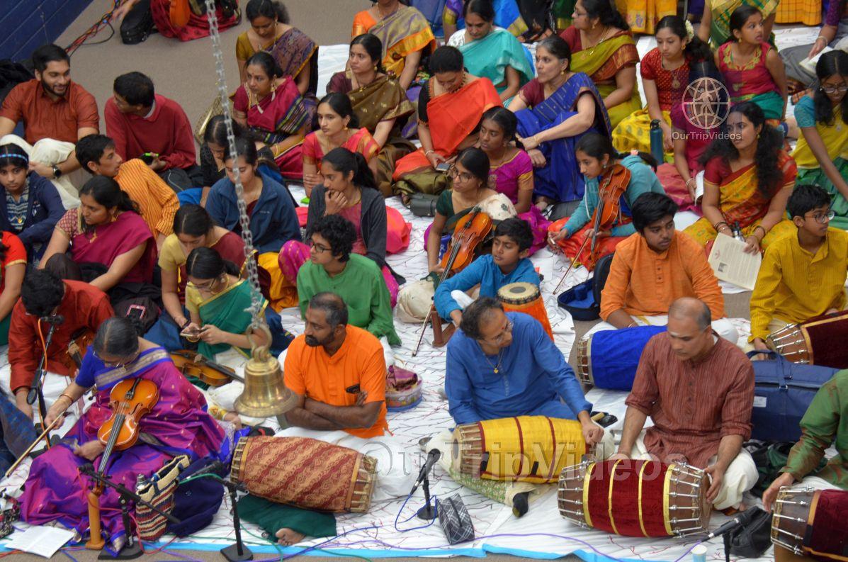Lotus Tyagaraja Aradhana at Sanatana Dharma Kendra, San Jose, CA, USA - Picture 32 of 50