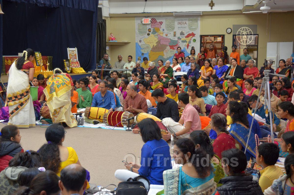 Lotus Tyagaraja Aradhana at Sanatana Dharma Kendra, San Jose, CA, USA - Picture 35 of 50
