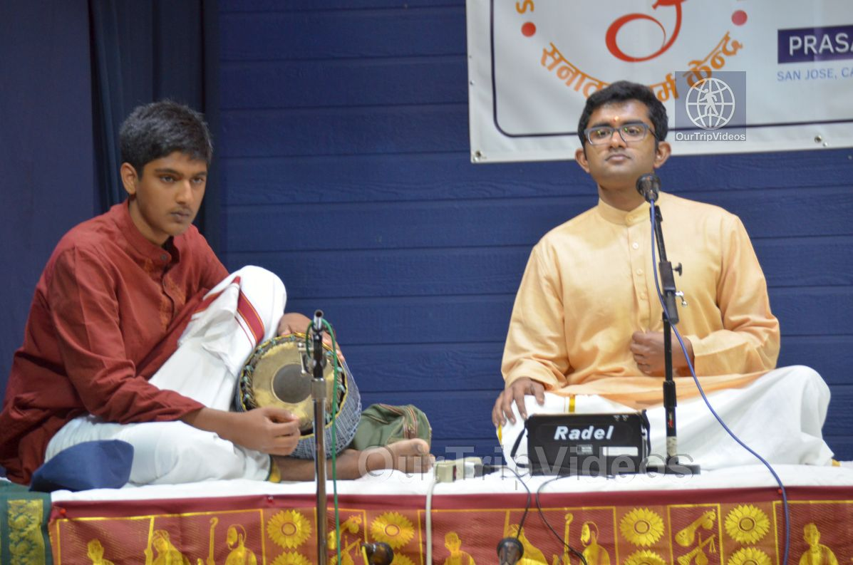Lotus Tyagaraja Aradhana at Sanatana Dharma Kendra, San Jose, CA, USA - Picture 58 of 75