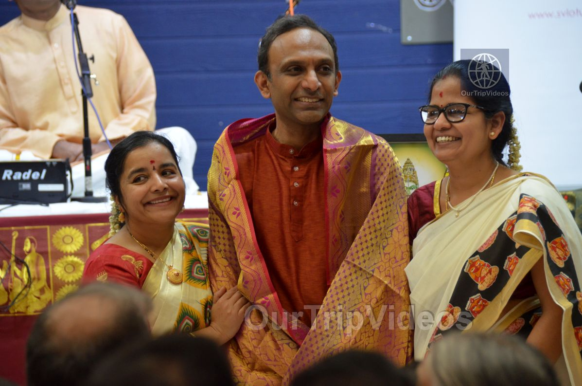 Lotus Tyagaraja Aradhana at Sanatana Dharma Kendra, San Jose, CA, USA - Picture 60 of 75