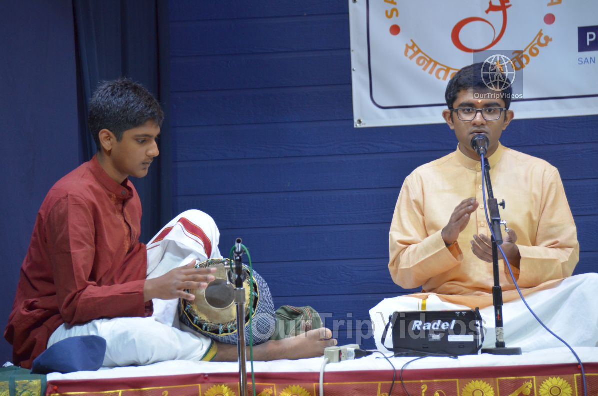 Lotus Tyagaraja Aradhana at Sanatana Dharma Kendra, San Jose, CA, USA - Picture 63 of 75