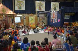 Lotus Tyagaraja Aradhana at Sanatana Dharma Kendra, San Jose, CA, USA - Picture 12