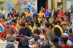 Lotus Tyagaraja Aradhana at Sanatana Dharma Kendra, San Jose, CA, USA - Picture 25