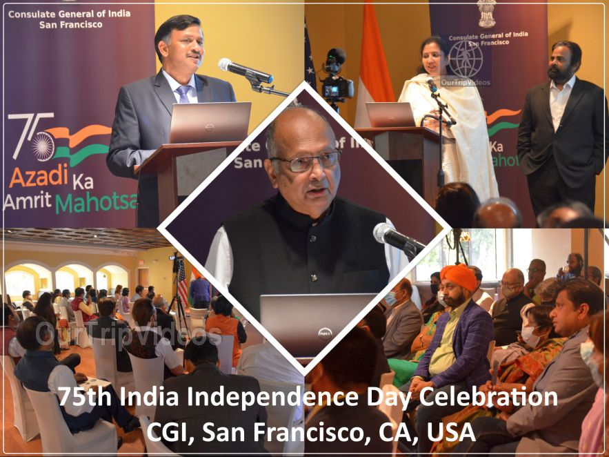 75th India Independence Day Celebration - CGI, San Francisco, CA, USA - Picture 1 of 25