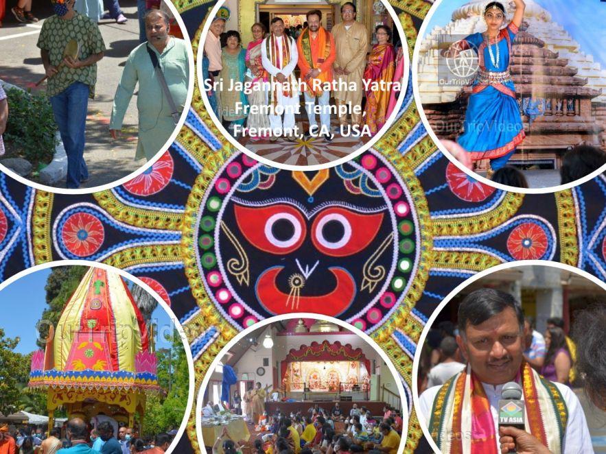 Sri Jagannath Ratha Yatra - Fremont Temple, Fremont, CA, USA - Picture 1 of 25