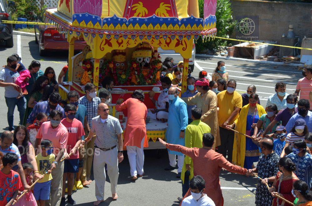 Sri Jagannath Ratha Yatra - Fremont Temple, Fremont, CA, USA - Picture 26 of 50