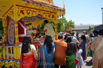 Sri Jagannath Ratha Yatra - Fremont Temple, Fremont, CA, USA - Picture 13