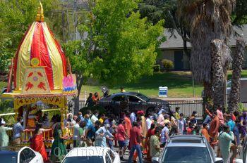 Sri Jagannath Ratha Yatra - Fremont Temple, Fremont, CA, USA - Picture 19